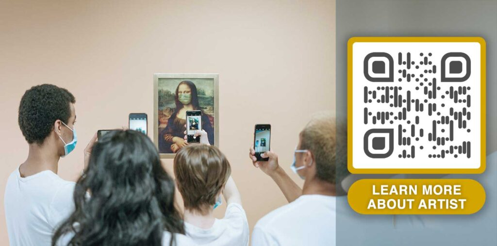 dynamic qr code for museums and art